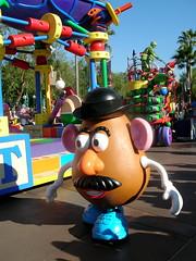Mr. Potato Head by Abby Lanes