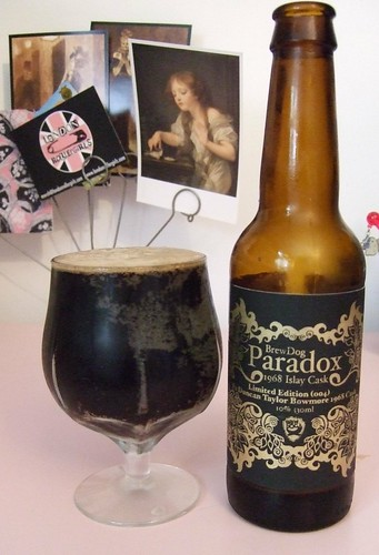 Limited Edition BrewDog Paradox, bottle 141 of 200