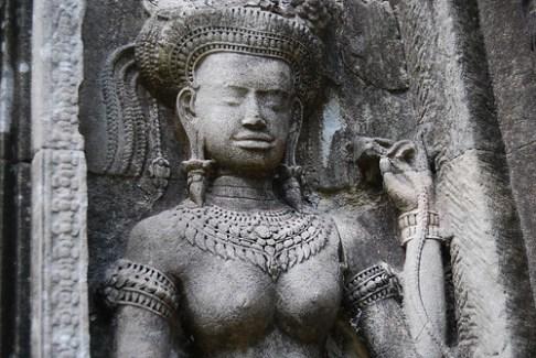 Apsaras en Angkor