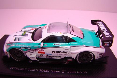 2008 Ebbro Petronas Lexus SC430