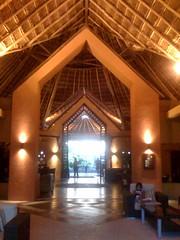 hotel lobby at catalonia