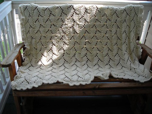 * What a lovely blanket this stitch makes! Another inspiration dedicated to a grandmother.