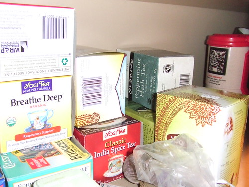 Additional tea stash