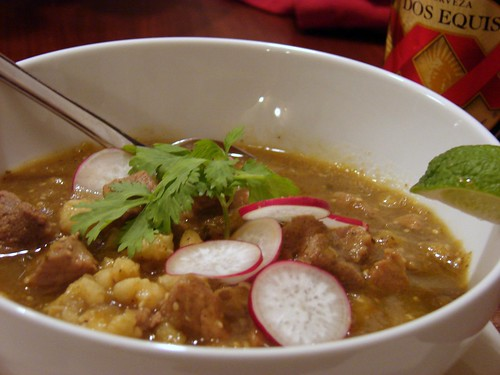 Dinner:  December 18, 2008