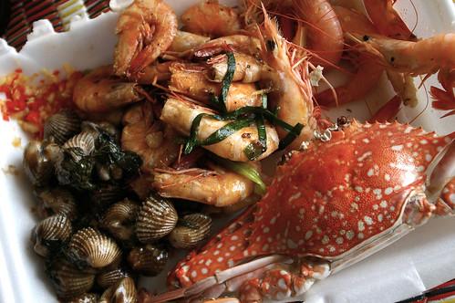 crustaceans & mollusks