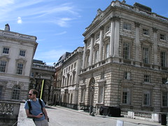 Paul at Somerset House, London