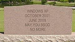 Death of Windows XP