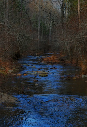 Dusk on Otter Creek