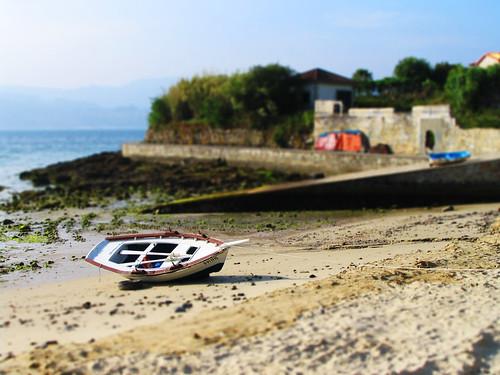 La barca solitaria