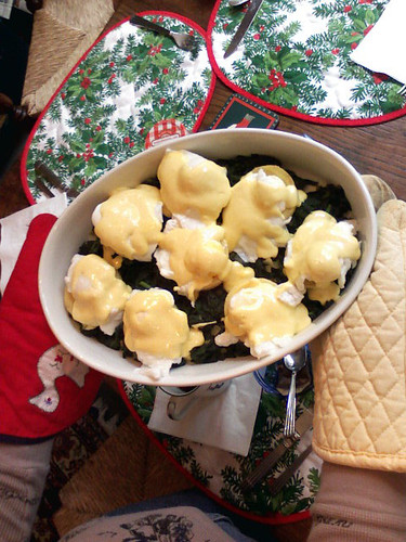 eggs sardou on christmas day