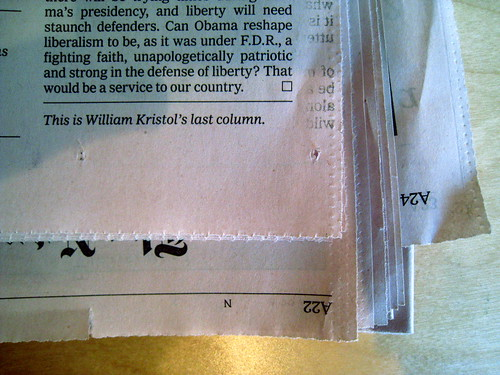 The Best Line on Today's 'New York Times' Op-Ed Page