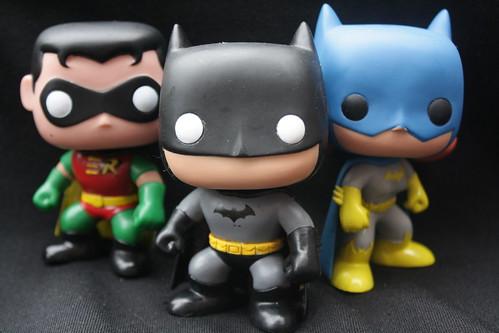 Robin, Batman and Batgirl