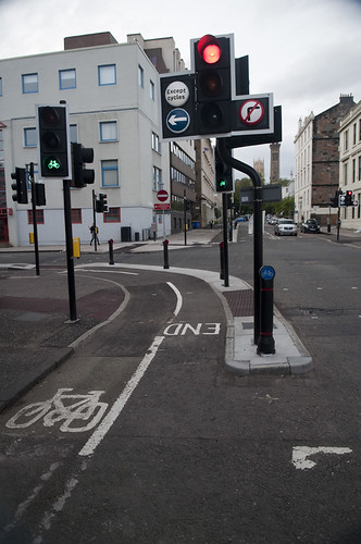Junction of Elderslie and Berkley. Not really sure where this route is going...