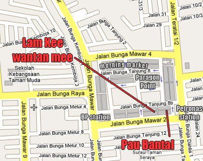 Taman Muda location