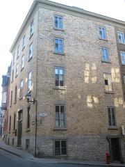 The building where Calixa Lavallée, composer of O Canada, lived. Québec City