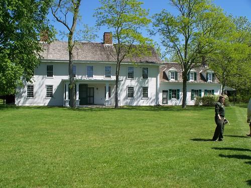 Front of William Floyd Estate