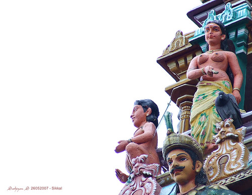 Gopuram ~ Sikkal