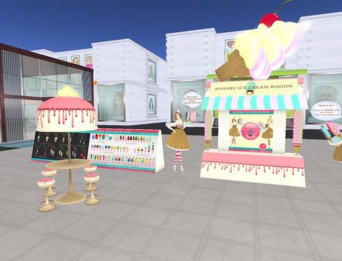 Aoharu Ice Cream Fair