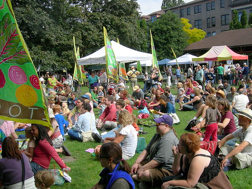 Harvest Fair Crowd