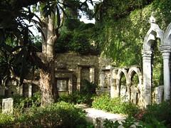 Jardin lapidaire Villa Ephrussi de Rothschild Villefranche
