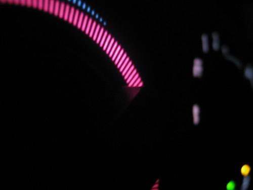 A/C Dials at Night
