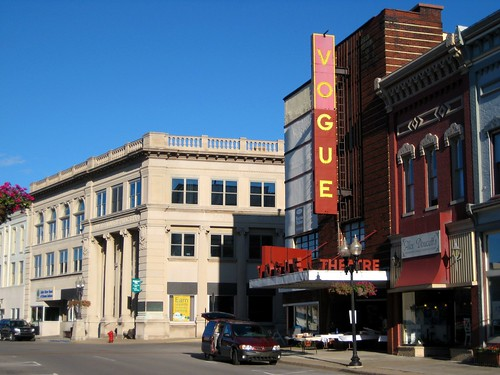 Manistee Bank & Trust and The Vogue Theatre