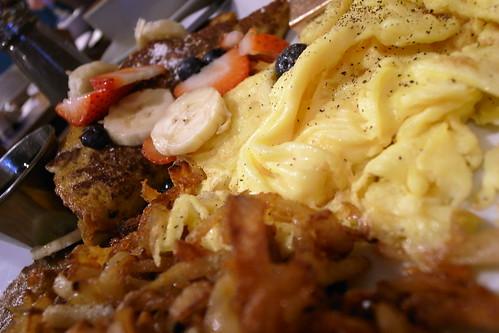 The Grey Dog's breakfast