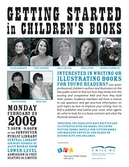 Poster- Getting Started in Children's Books