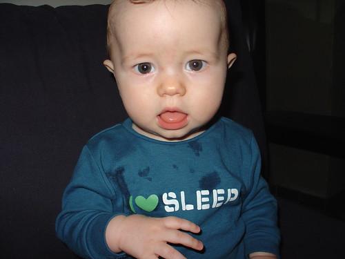 Lenny loves sleep