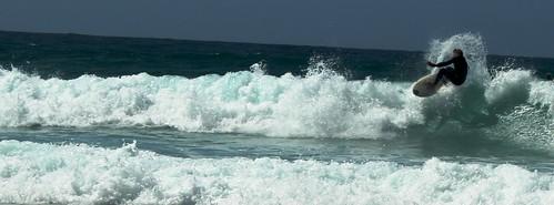 Surfer at Sennen Cove