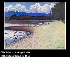 La Plage à Vidy (Félix Vallotton)