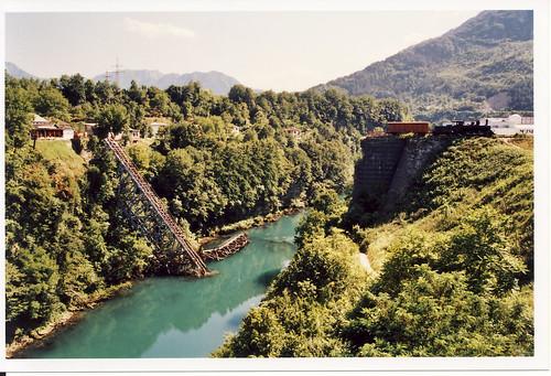 A jablanicai partizán-híd Fotó: http://www.flickr.com/photos/quickfix/2816338492/