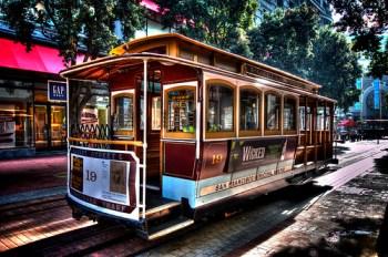 San Francisco - Cable Car HDR