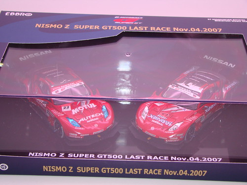 Ebbro Last Race Fairlady Z Race set