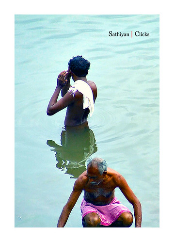 Cleansing @ Pamba river