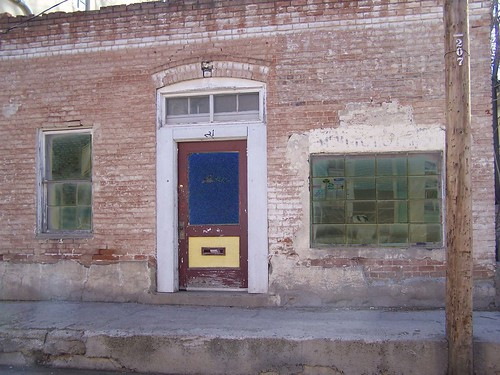 Old Brick Building.