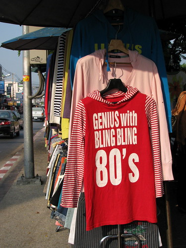 T-shirt for sale, Chiang Mai, Thailand