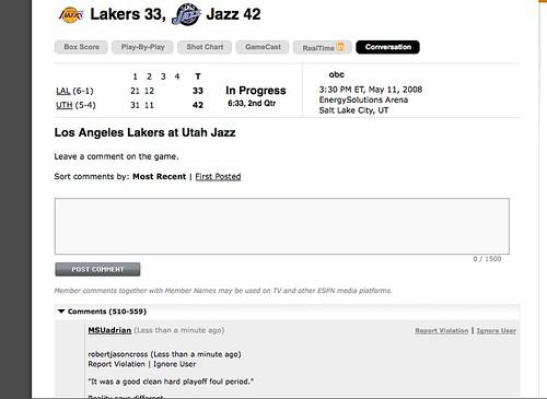 ESPN Conversation