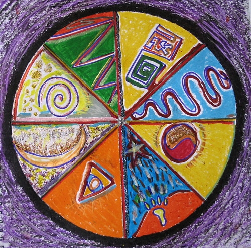 Mandala Shield, Minneapolis, Minnesota, May 2008, photo © 2008 by QuoinMonkey. All rights reserved.