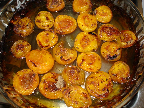 Roasted Apricots