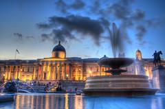 National Gallery on Trafalgar Square