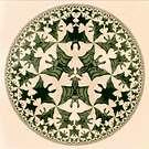M. C. Escher. Circle Limit IV. 1960.