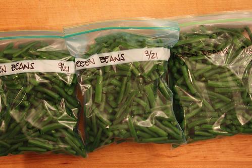 Green Bean Bags