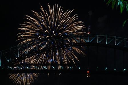 NYE09 - Family fireworks