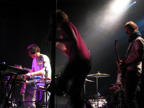 Casiokids opening for Of Montreal at Le Bataclan.