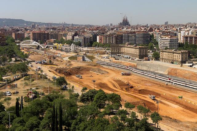 Entorno Futura Estación de La Sagrera - 25-05-11