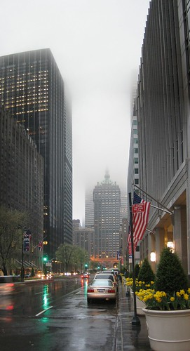 Foggy New York