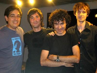 Con Jorge y Leo de Nudozurdo