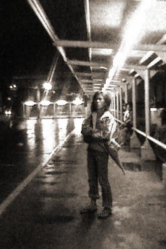 waiting on a rainy night