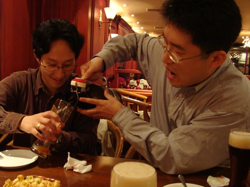 'Haus-Beer' in Busan